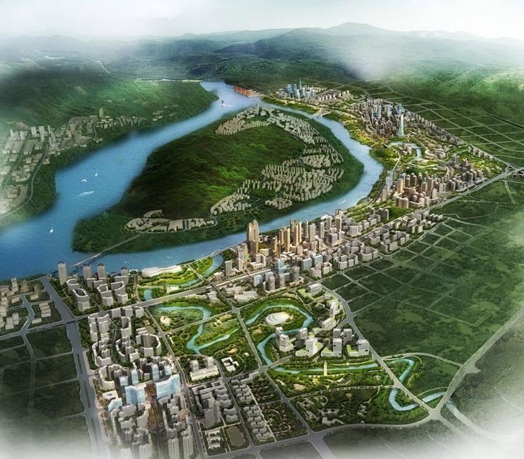 广阳岛规划定位为江北嘴cbd功能配套延伸区,集生态居住,商务