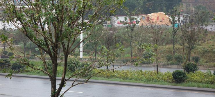 地块附近贵州华工厂