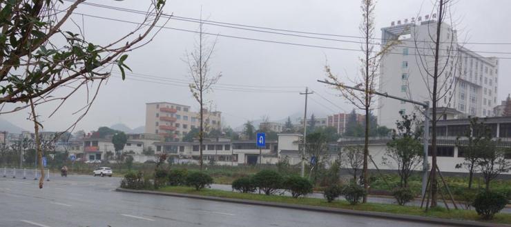 地块附近省电子工业学校
