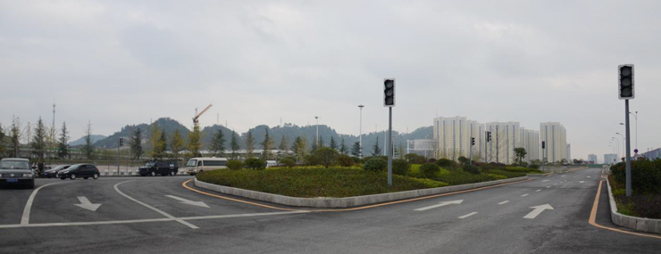 地块交通设施