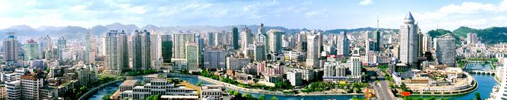 贵阳市中心实景图